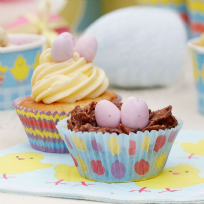 Easter Chick Cupcake Cases (100)